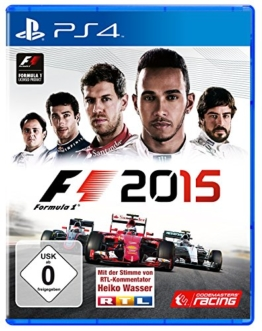 F1 2015 - [PlayStation 4] - 1